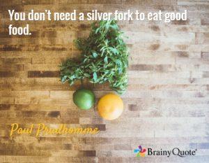Paul Prudhomme Food