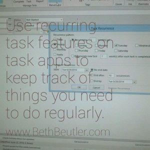 Use recurring