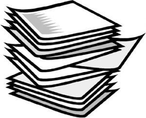 CA-paper stack