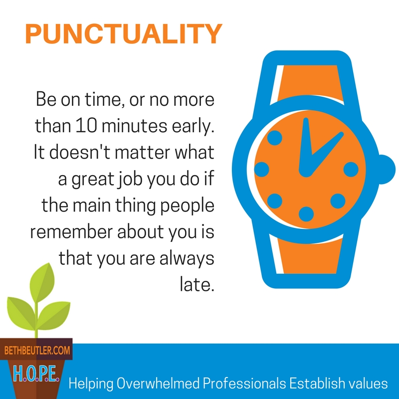 military punctuality essays Being on time is a way of showing respect to others the importance of punctuality and keeping appointments exists in both personal and professional settings.