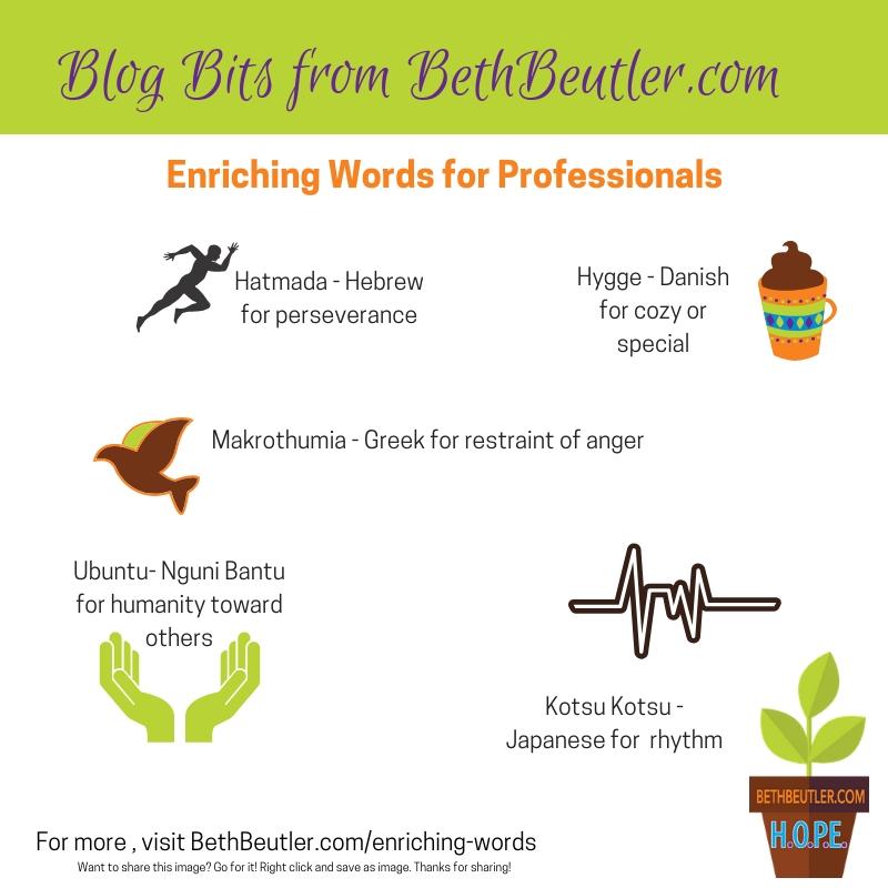 enriching words